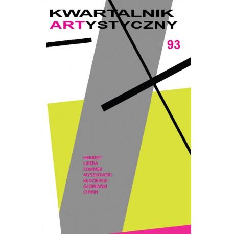 Kwartalnik Artstyczny 93